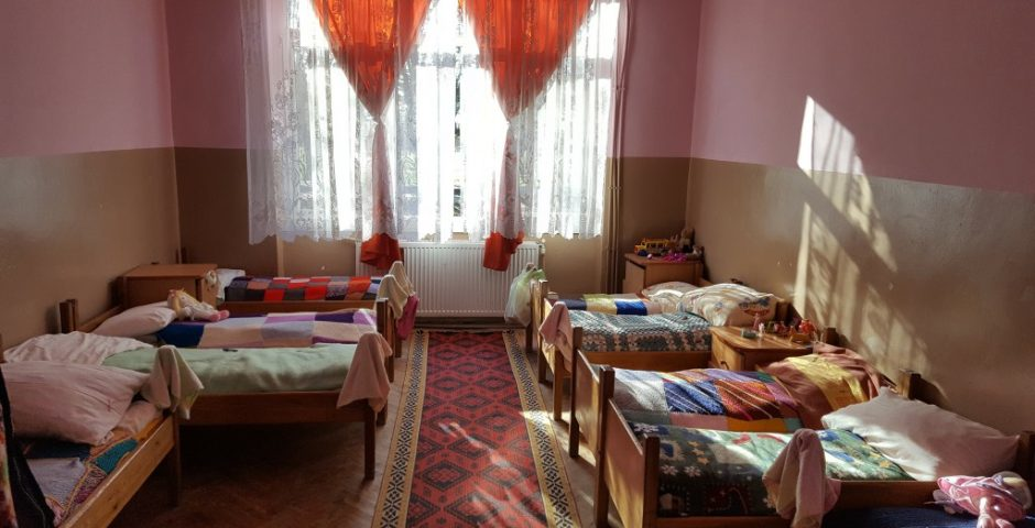 Paturile copiilor internați la Ilișua