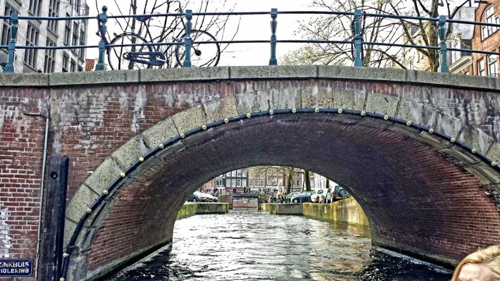 podul cu bicicleta amstedram